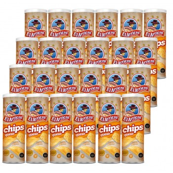24 unidades de Papas Chips...