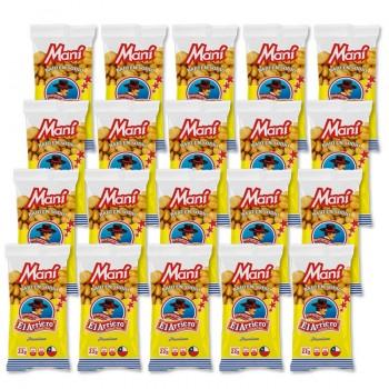 20 unidades de Maní salado...
